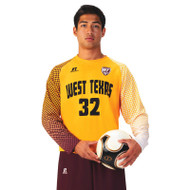 Russell Men's Sublimated Performance Long Sleeve Soccer Jersey - Drop Kick