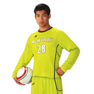 Russell Men's Sublimated Performance Long Sleeve Soccer Jersey - End Line