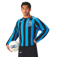 Russell Men's Sublimated Performance Long Sleeve Soccer Jersey - Vertical