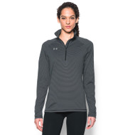Under Armour Women's Stripe Tech ¼ Zip