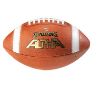 Spalding ALPHA® Leather Game Football