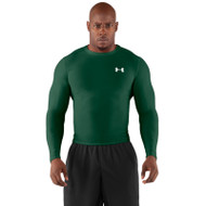 Under Armour Mens Heatgear Compression Long Sleeve - Forest