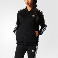 Adidas Womens Performance Basic Jacket - Black/White