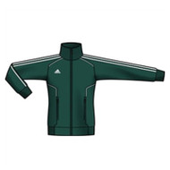 Adidas Womens Performance Basic Jacket - Forest/White