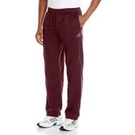 Adidas Youth Performance Basics Pants - Maroon/White