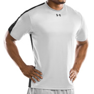 Under Armour Mens Team Zone Short Sleeve T-Shirt - White