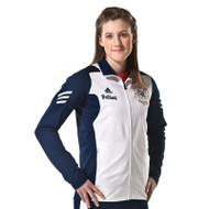 Adidas Womens Scorch Sideline Jacket - Royal/White