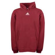 Adidas Mens Team Fleece Hoodie - Maroon