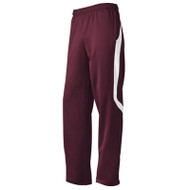 Adidas Mens Scorch Sideline Pant - Maroon/White