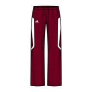 Adidas Women's Scorch Warm-Up Pants - Maroon