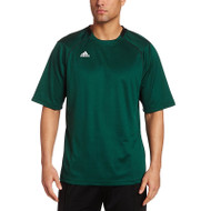 Adidas Mens Varsity Loose Fit L/S T-shirt - Forest