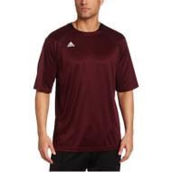 Adidas Mens Varsity Loose Fit L/S T-shirt - Maroon