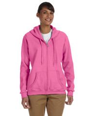Gildan Heavy Blend Ladies' 13.3 oz. 50/50 Full-Zip Hoodie