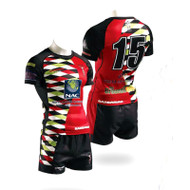 Barbarian Men's Sublimated Elite Shorts -Rugby
