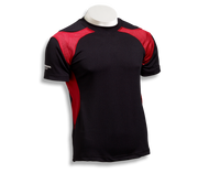 Barbarian Men's Matrix Pro-Fit Premium Rugby Jersey - Black/Red