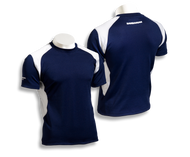 Barbarian Men's Eclipse Pro-Fit Premium Rugby Jersey - Navy/White