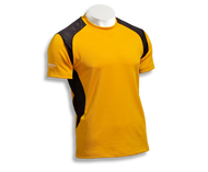Barbarian Men's Eclipse Pro-Fit Premium Rugby Jersey - Gold/Black