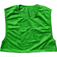 Adult Polyester mesh Football Scrimmage Vest - Adult (one size) - Green