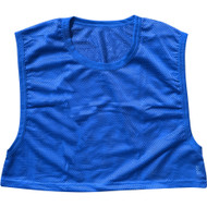 Adult Polyester mesh Football Scrimmage Vest - Adult (one size) - Blue