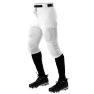Alleson Youth Elastic Waist 6 Snap Practice Football Pant