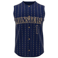 AthElite Youth Dinger Sleeveless Baseball Full Button Jerseys (AE-BA-JSY-111)
