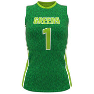 AthElite Girls Attack Slleeveless Voolleyball Jersey (AE-VB-JSY-131