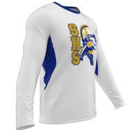 AthElite Boys Long Sleeve Power T-shirt (Mini Waffle) (AE-AW-TSSY-122)