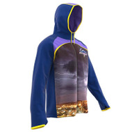 AthElite Boys Fusion FZ Hybrid Hoodies (Thermatex Fabric) (AE-AW-HDSY-112)