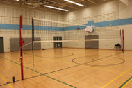 """Telescopic 3"""" Steel Volleyball Post System"""