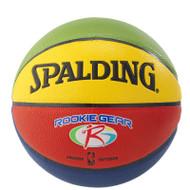 Spalding Rookie Gear Soft Grip Basketball - Multi-Colour