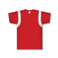 Athletic Knit Dryflex V-Neck Shoulder Inserts Soccer Jersey