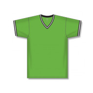 Athletic Knit Solid Dryflex V-Neck Soccer Jersey