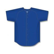 Athletic Knit Youth Proflex Saddle Sleeve Full Button Baseball Jersey