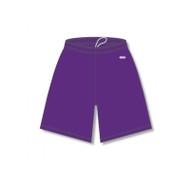 "Athletic Knit Ladies Dryflex Elastic Waist 5"" Inseam Baseball Short"