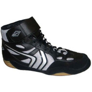 Matman Revenge Youth Wrestling Shoe - Silver