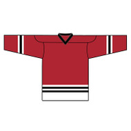Kobe Chicago Regular Away Hockey Jersey - 6106YA (KO-6106YA