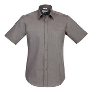 Biz Collection Men's Chevron Short Sleeve Shirt (FB-S122MS)