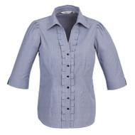 Biz Collection Women's Edge ¾ Sleeve Shirt (FB-S267LT)