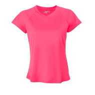 Champions Women's Essential Double Dry V-Neck Tee