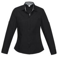 Biz Collection Women's Bondi Long Sleeve Shirt (FB-S306LL)
