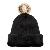 KNP Adult Toque with Faux Fur Pom (KP-CK1090)