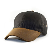 KNP Adult Australian Oilskin Cap with elastic back strap (KP-OS6870A)
