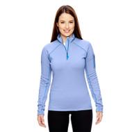 Marmot Ladies' Stretch Fleece Half-Zip Jacket (AS-89610)