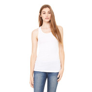 Bella + Canvas Ladies' Sheer Mini Rib Racerback Tank (AS-8770)