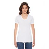 American Apparel Ladies' Poly-Cotton Short-Sleeve Crewneck (AS-BB301W)