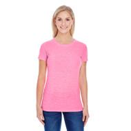 Threadfast Ladies' Triblend Short-Sleeve T-Shirt (AS-202A)