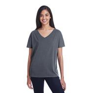 Threadfast Ladies' Triblend Fleck Short-Sleeve V-Neck T-Shirt (AS-203FV)