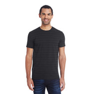 Threadfast Men's Invisible Stripe Short-Sleeve T-Shirt (AS-152A)