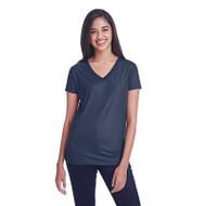 Threadfast Ladies' Liquid Jersey V-Neck T-Shirt (AS-240RV)