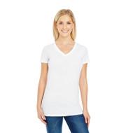 Threadfast Ladies' Pigment-Dye Short-Sleeve V-Neck T-Shirt (AS-230B)